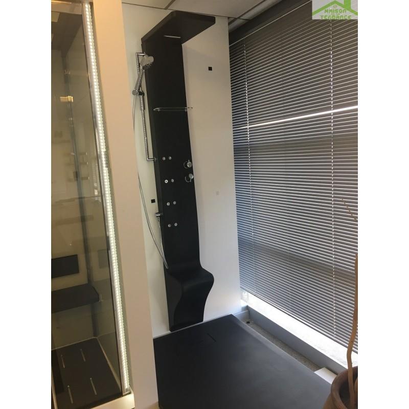 receveur douche resine finest bac de douche extraplat hidrobox par robinet and co with receveur. Black Bedroom Furniture Sets. Home Design Ideas