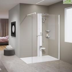 Colonne de douche mécanique ou thermostatique NOVELLINI LINE 1 215 cm