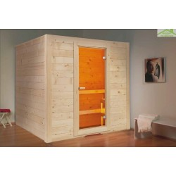Cabine de Sauna BASIC MASSIV MEDIUM de SENTIOTEC 194,5x156 cm