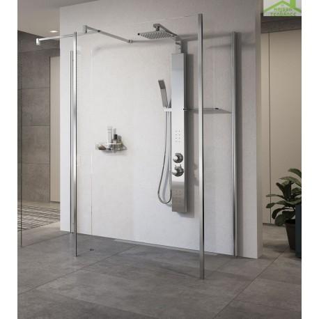 colonne de douche suspendue hydromassante m canique ou. Black Bedroom Furniture Sets. Home Design Ideas