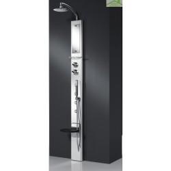 Colonne de douche hydromassante mécanique ou thermostatique NOVELLINI AQUA 2 THINK 1 210 cm