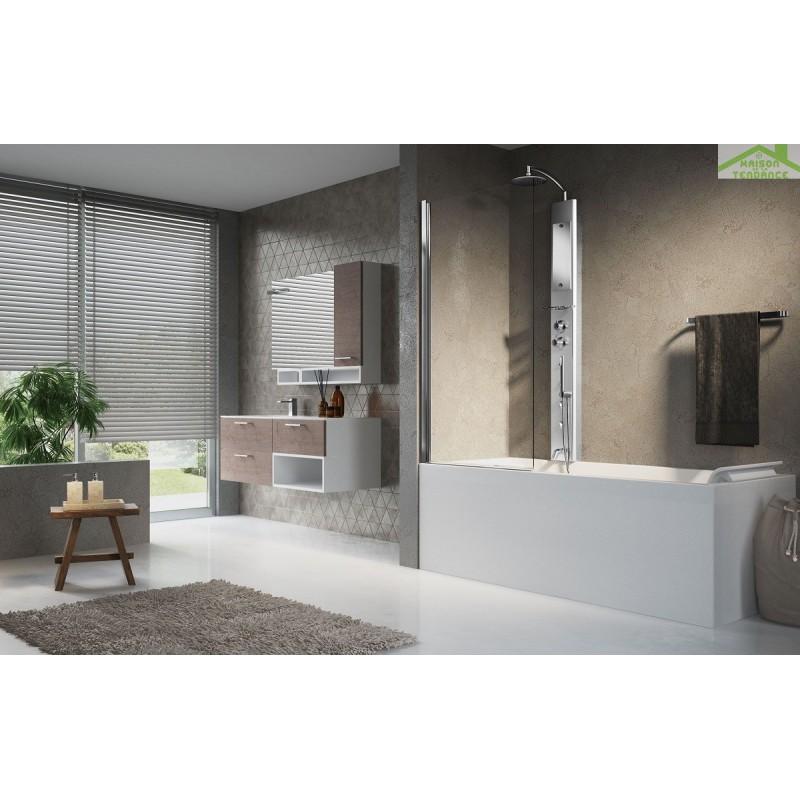 kit douche pour baignoire perfect elegant cheap colonne de douche avec robinet de douche pour. Black Bedroom Furniture Sets. Home Design Ideas