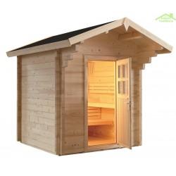 sauna d 39 ext rieur maison de la tendance. Black Bedroom Furniture Sets. Home Design Ideas