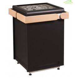 Poêle à sauna design CONCEPT R  de SENTIOTEC 9 kW, 10,5kW, 12 kW ou 15 kW