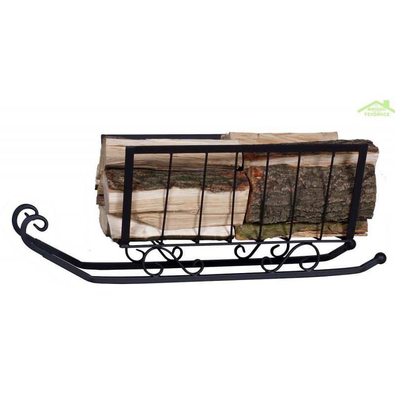 Rangement bois de chauffage finest ajouter ma liste - Idees de range buche portes panier abris bois de chauffage ...