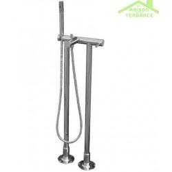 Colonne de douche sur pied SEINA avec douchette en chrome