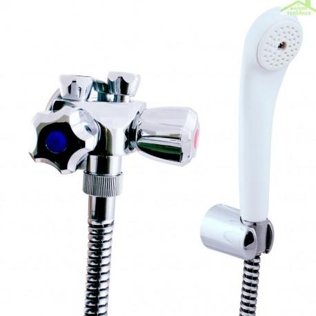 Robinet mélangeur basse pression pour baignoire ou douche en