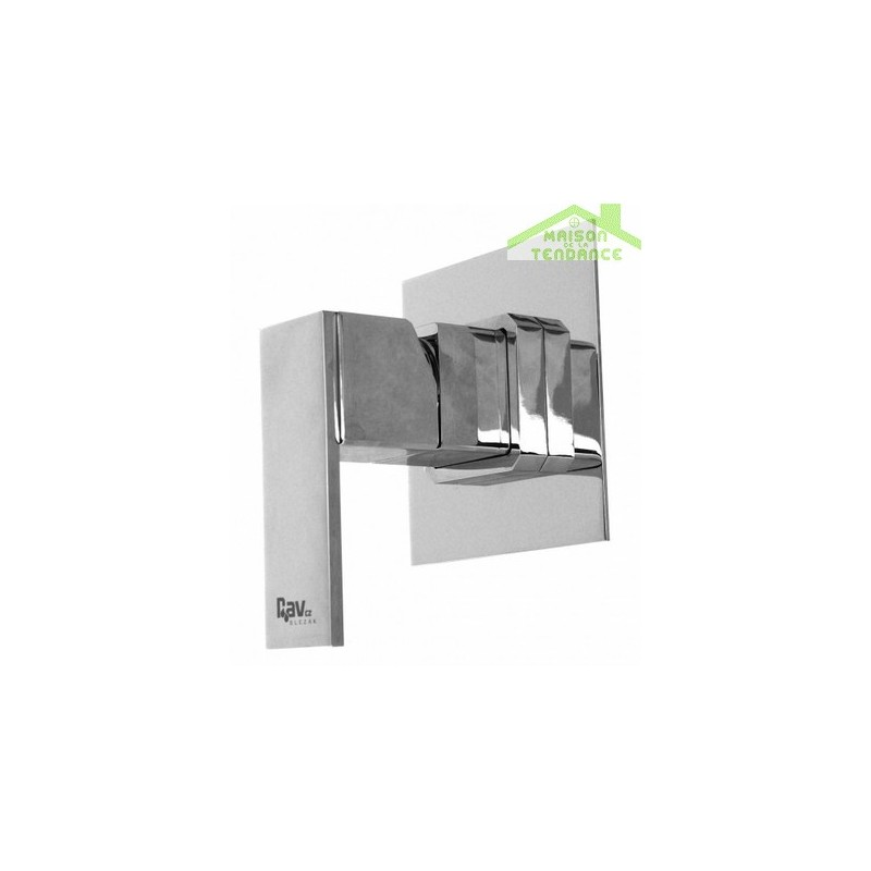 mitigeur douche encastrable loira en chrome maison de la tendance. Black Bedroom Furniture Sets. Home Design Ideas