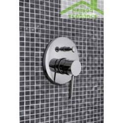 Mitigeur douche encastrable SEINA avec commutateur en chrome