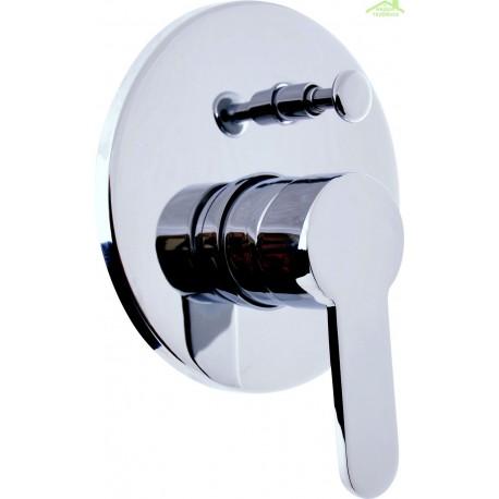 mitigeur douche encastrable zambeze avec commutateur en chrome maison de la tendance. Black Bedroom Furniture Sets. Home Design Ideas