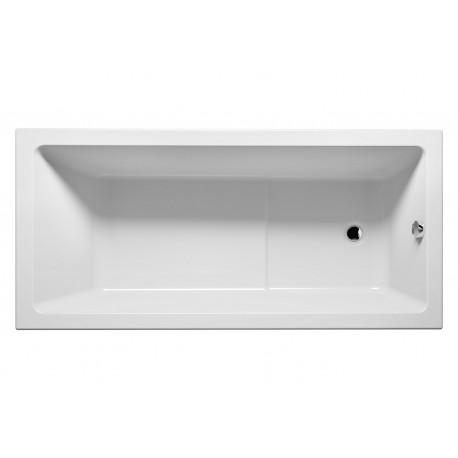 Baignoire acrylique riho lusso plus 170x80 cm maison de for Baignoire acrylique prix