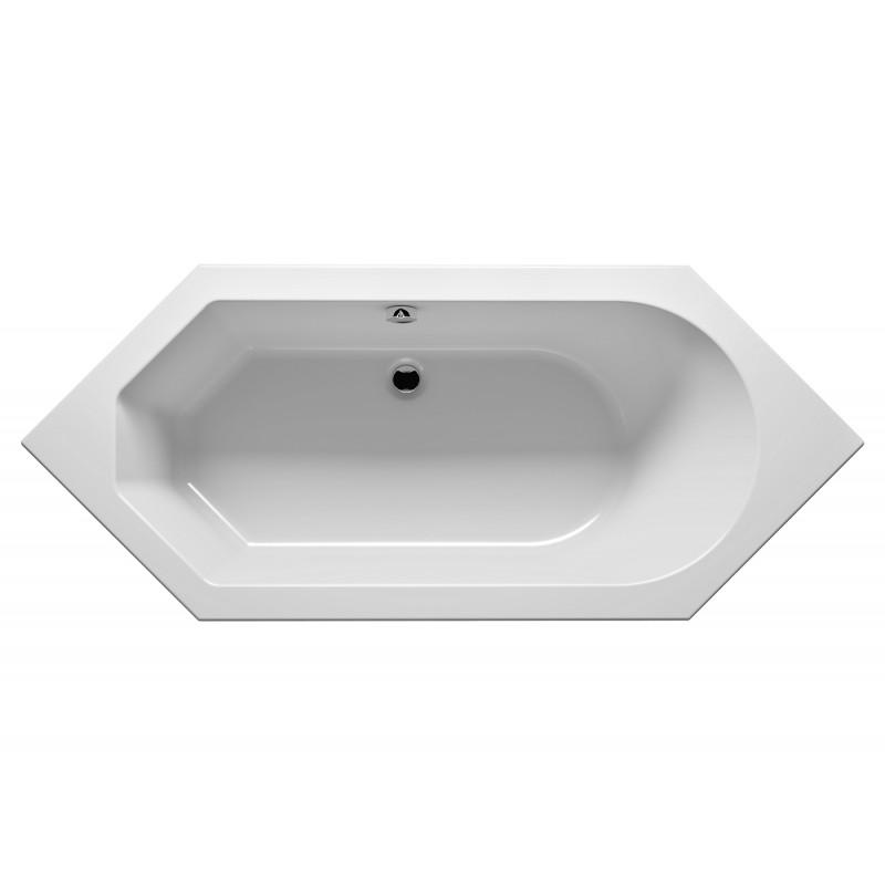 Baignoire acrylique riho alberta 190x80 cm maison de la for Baignoire acrylique prix