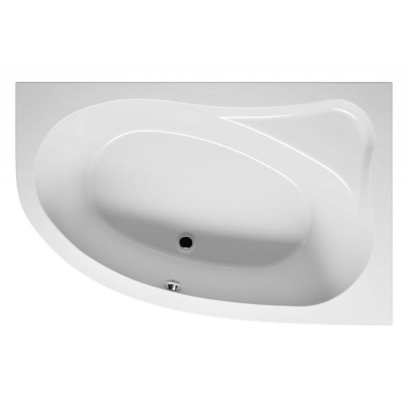 baignoire acrylique riho d 39 angle lyra 170x110 cm maison. Black Bedroom Furniture Sets. Home Design Ideas