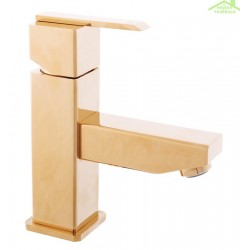 Mitigeur lavabo LOIRA sans ou avec siphon en chrome ou or