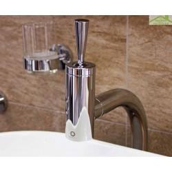 Mitigeur haut lavabo SEINA JOYSTIC  avec siphon en chrome