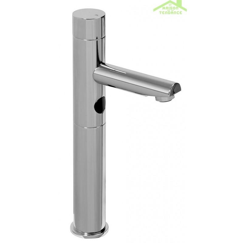 Robinet lavabo haut sensoriel automatique maison de la - Robinet automatique a detecteur infrarouge ...