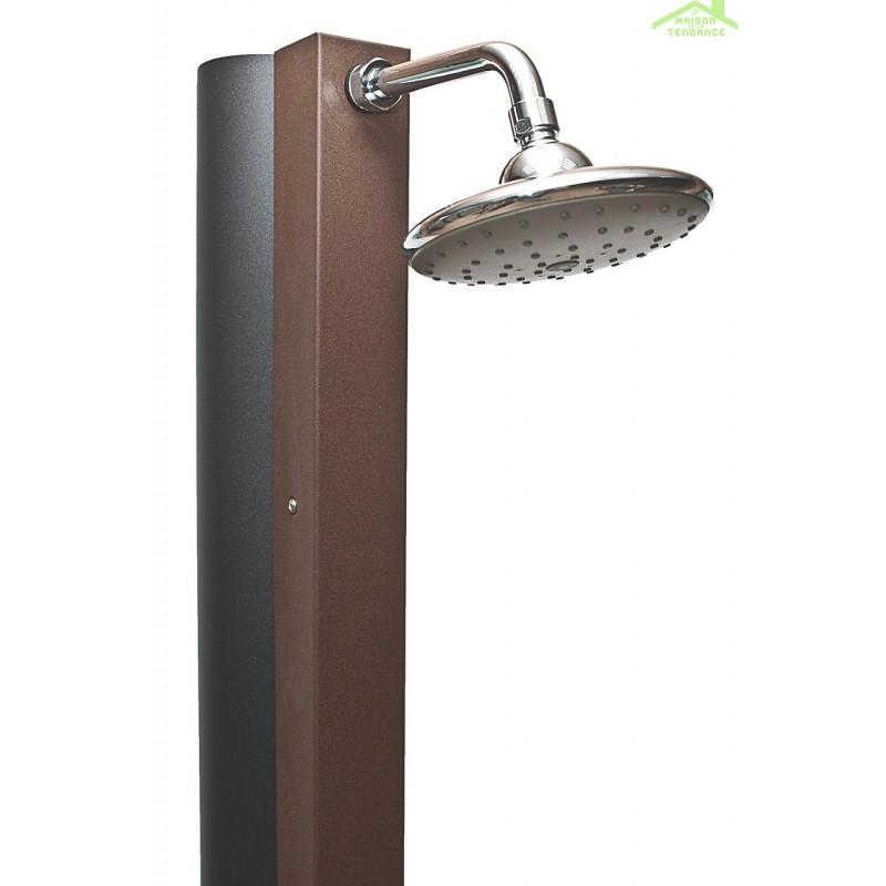 douche de piscine solaire douche ext rieure 30l avec. Black Bedroom Furniture Sets. Home Design Ideas