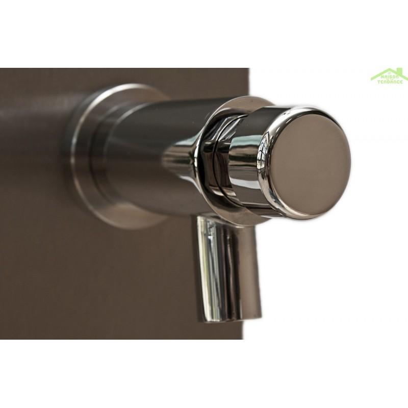 douche de piscine solaire pulsate douche ext rieure 40l avec rince pieds temporis coloris au. Black Bedroom Furniture Sets. Home Design Ideas