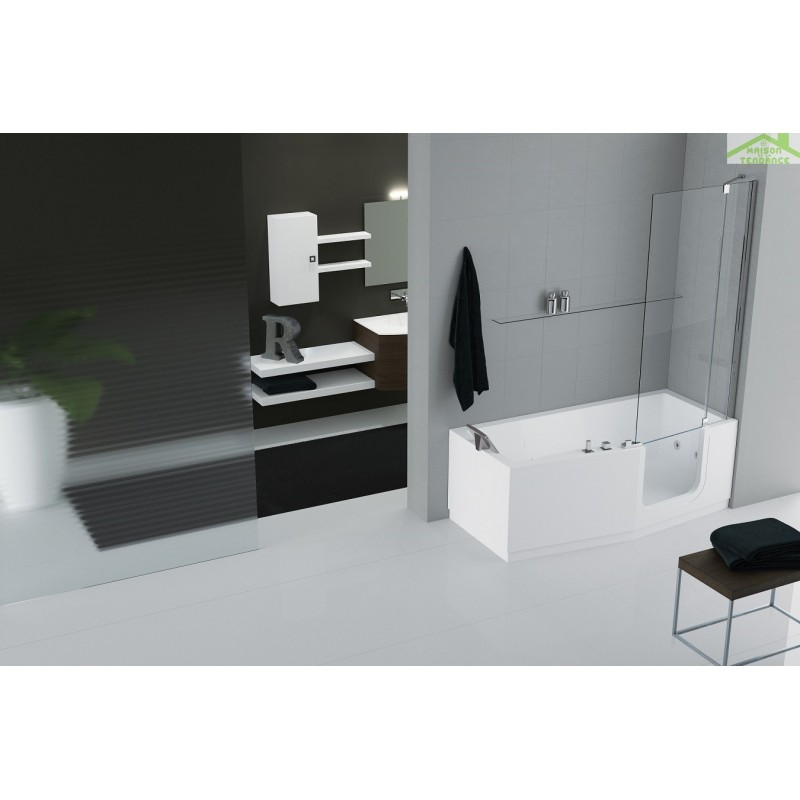 baignoire porte iris novellini. Black Bedroom Furniture Sets. Home Design Ideas