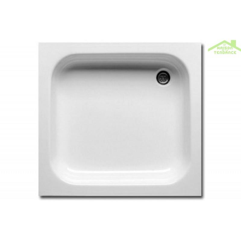 receveur de douche acrylique carr riho apollo 80x80x13 cm maison de la tendance. Black Bedroom Furniture Sets. Home Design Ideas
