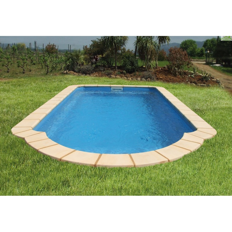 Piscine coque polyester saturn for Piscine coque destockage
