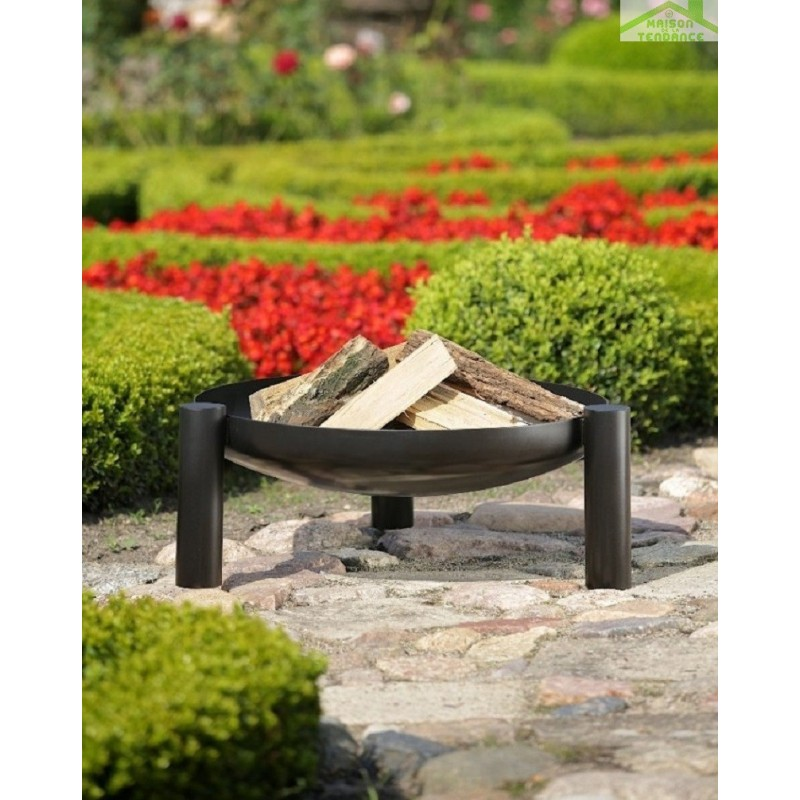 Brasero de jardin palma au charbon for Brasero de jardin