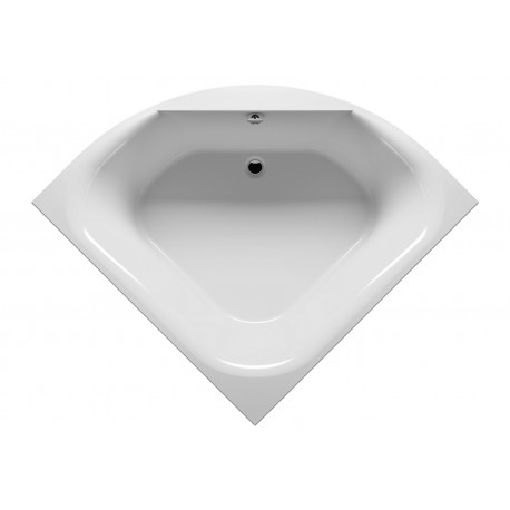 Baignoire d'angle acrylique RIHO ATLANTA 140x140cm