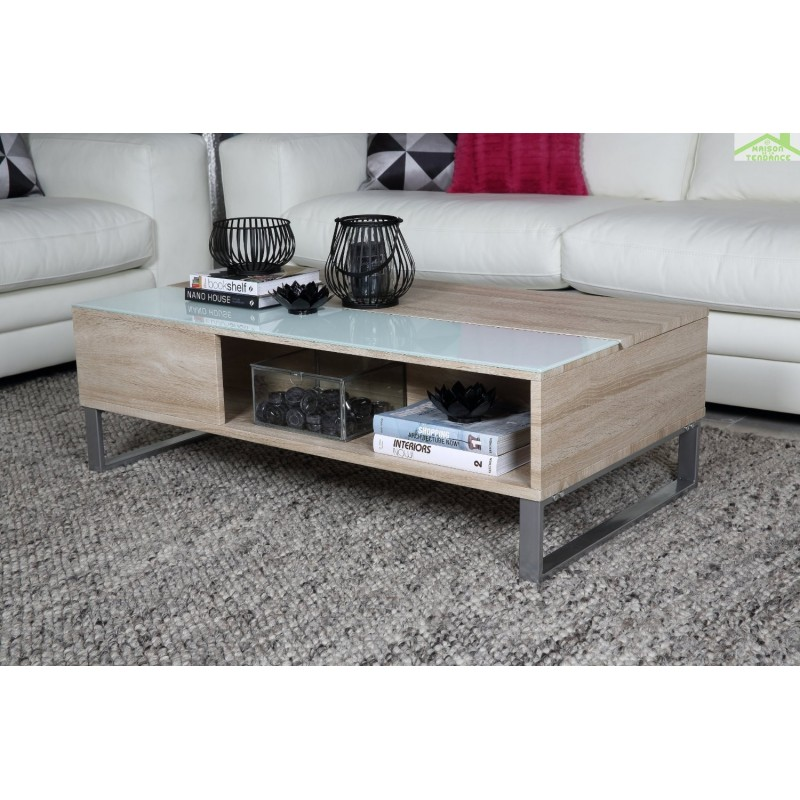 azalea coffee table glass. Black Bedroom Furniture Sets. Home Design Ideas