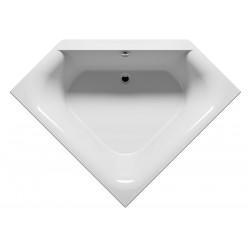Baignoire d'angle acrylique RIHO AUSTIN 145x145cm