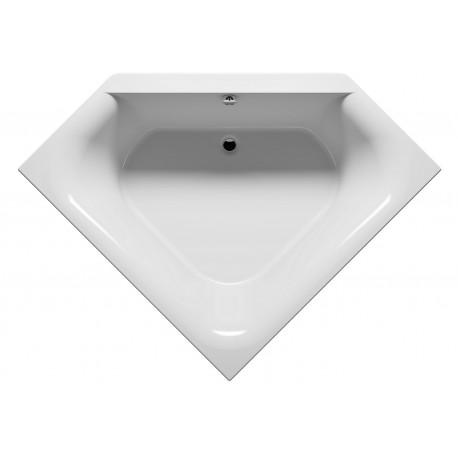 baignoire d 39 angle acrylique riho austin 145x145cm maison. Black Bedroom Furniture Sets. Home Design Ideas