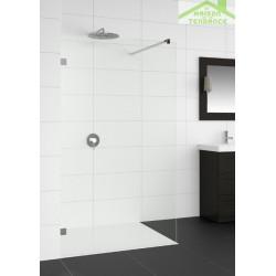 Parois de douche double battante RIHO ARTIC A400 en verre clair