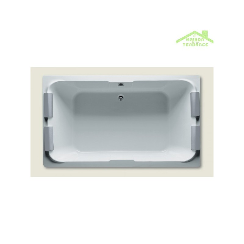 Grande baignoire acrylique riho sobek 180x115 cm maison for Baignoire acrylique prix