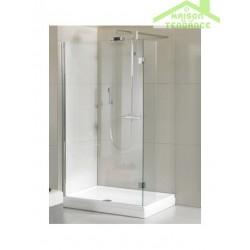 Ecran de douche RIHO WALK IN DOUCHE POLAR P201 en verre clair