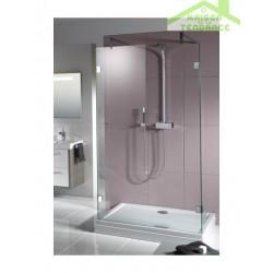 Ecrans de bain RIHO SCANDIC S202 en verre clair