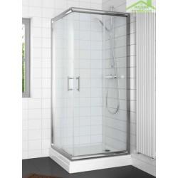 Parois de douche carrées coulissantes RIHO HAMAR