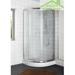 Parois de douche coulissantes ¼ de rond RIHO HAMAR