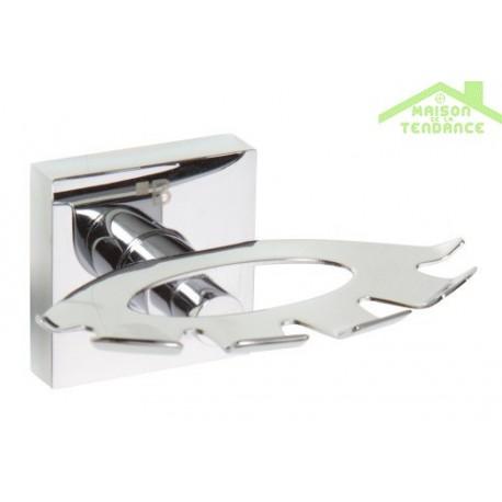 Porte Brosse Dents Beta En Chrome 105x55x85 Mm Maison