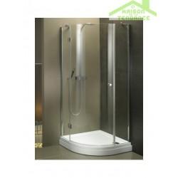 Parois de douche universelle RIHO SCANDIC MISTRAL M308 en verre clair