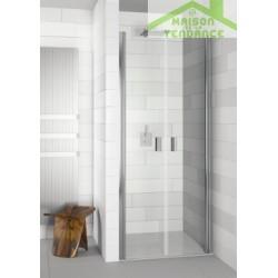 Parois de douche battantes universelles RIHO NAUTIC N111 en verre clair