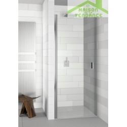 Porte de douche gauche universelle RIHO NAUTIC N101 en verre clair