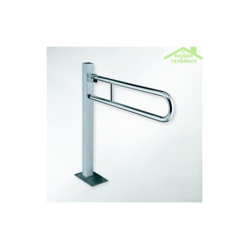 barre de maintien de douche sur pied help 81 3x87cm maison de la tendance. Black Bedroom Furniture Sets. Home Design Ideas