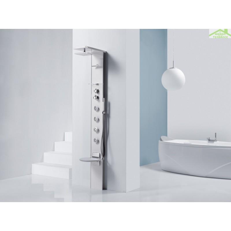colonne de douche hydromassante novellini cascata 3. Black Bedroom Furniture Sets. Home Design Ideas
