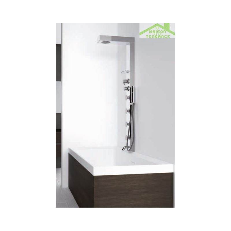 colonne de douche hydromassante thermostatique colonne de douche thermostatique niagara youtube. Black Bedroom Furniture Sets. Home Design Ideas