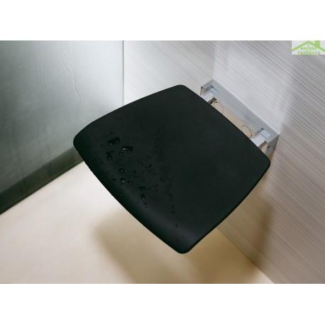 si ge mural escamotable pour douche novellini en m tal chrom. Black Bedroom Furniture Sets. Home Design Ideas