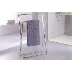 Etag re tablette avec porte serviettes retro en laiton 66 - Porte serviette sur pied ikea ...