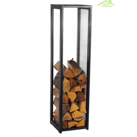 range b ches en acier noir 30x30x120cm maison de la tendance. Black Bedroom Furniture Sets. Home Design Ideas