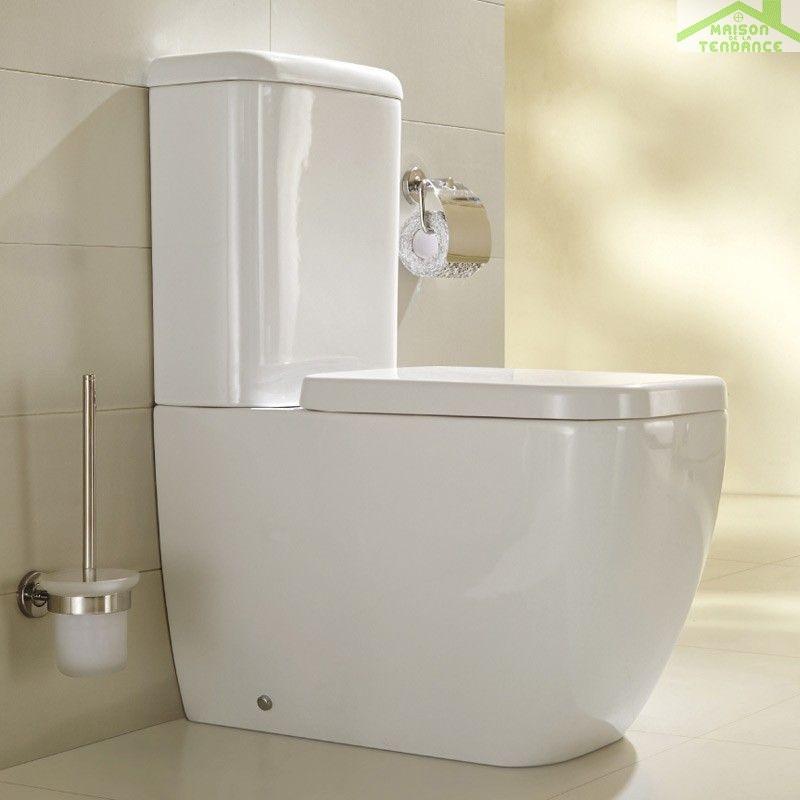 Pack wc poser legend avec abattant frein de chute - Montage abattant wc avec frein de chute ...