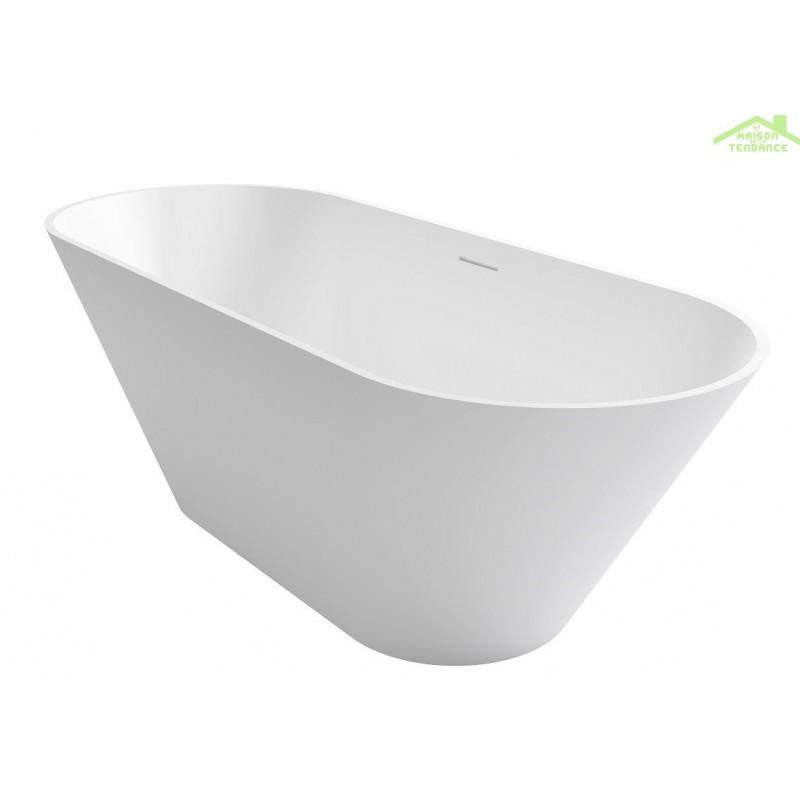 baignoire lot en solid surface riho barcelona 170x70 cm. Black Bedroom Furniture Sets. Home Design Ideas