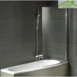 Paroi de bain RIHO NAUTIC 150x89 cm pour RIHO LYRA