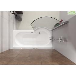 Paroi de bain RIHO NAUTIC 150x77 cm pour RIHO DORADO